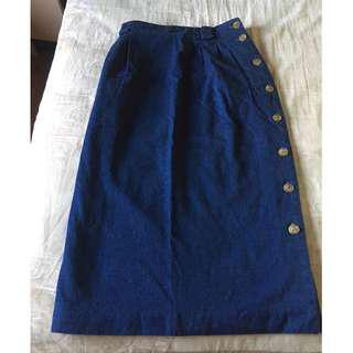 Talbots USA Denim Skirt