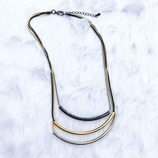 Three Tone Necklace