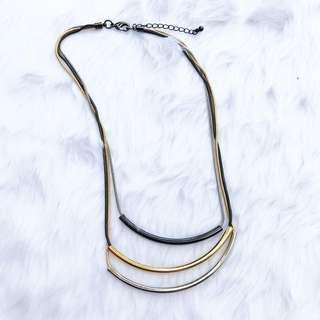 Three Tone Necklace