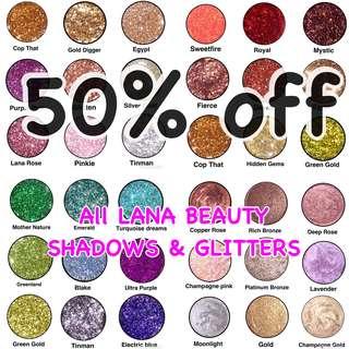 SALE on Pressed Glitters !! ✨