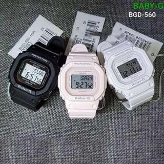 CASIO BABY-G BGD-560-4D/7D/1D WATCH ☑ORIGINAL...