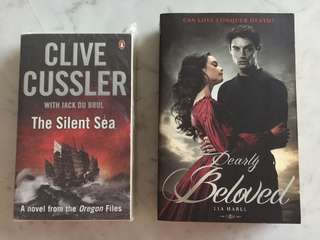 The Silent Sea -Clive Cussler/ Dearly Beloved - Lia Habel
