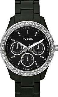 Fossil Watch Diamante Border