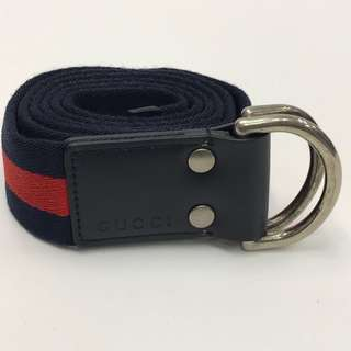 全新 Gucci Canvas Belt