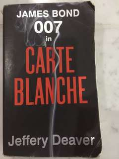 James Bond in Carte Blanche - Jeffery Deaver