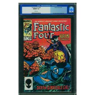 Marvel Comics Fantastic Four #266 CGC 9.8 Highest Graded White Pages John Byrne Copper Age Classic