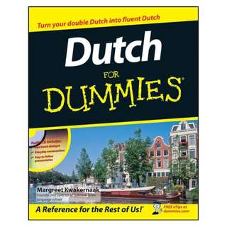 Dutch For Dummies 1st Edition by Margreet Kwakernaak [eBook]