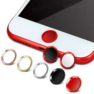 Home Button Touch ID Sticker for iPhone