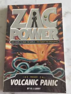 Zac Power - Volcanic Panic (H I Larry)