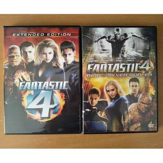 """Fantastic Four"" + ""Fantastic Four: Rise of the Silver Surfer"""
