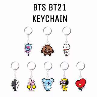 🚚 (Instock) BTS BT21 Keychain