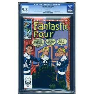 Marvel Comics Fantastic Four #265 CGC 9.8 Highest Graded She Hulk Joins John Byrne Copper Age Classic