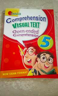 English Assessment book for P5