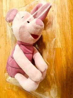 Piglet rattler toy