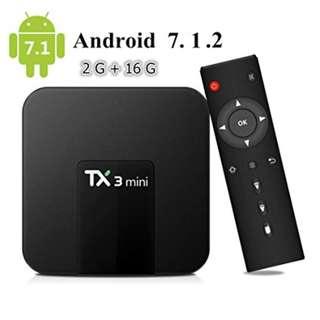 Tx3 mini :2G RAM + 16G ROM : Tx3 mini, android tv box, starhub box , iptv , astro malaysia