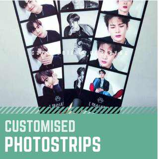🚚 [Fansupport Goods] Customised Photostrip, Paper material