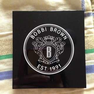 Bobbi Brown 4-Pan Eyeshadow Palette w/ Aegean Blue, Bone, Chocolate Caviar, and Balsam