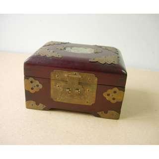 實木製首飾盒