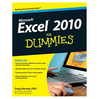 Excel 2010 For Dummies by Greg Harvey [eBook]
