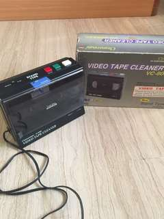 Nostalgic Video tape cleaner
