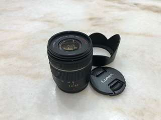 Panasonic Lumix 14-42mm zoom lens