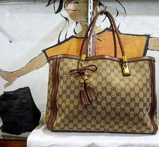 Authentic Gucci tote bag