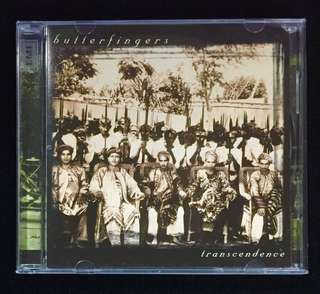BUTTERFINGERS - Transcendence 1999 Promo Copy CD (1st Press)