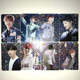 Exo Yes!Card 第18期 閃卡