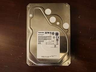 🚚 東芝2TB企業級硬碟