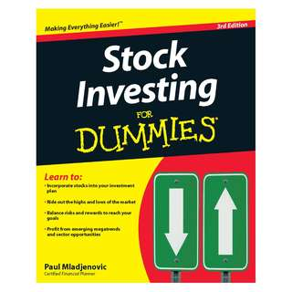 Stock Investing For Dummies 3th (third) edition by Paul Mladjenovic [eBook]