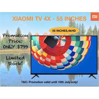 XIAOMI TV 4X - 55 INCHES