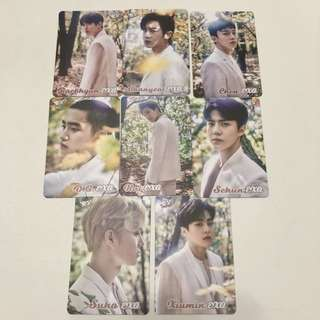 Exo Yes! Card 28期 白卡