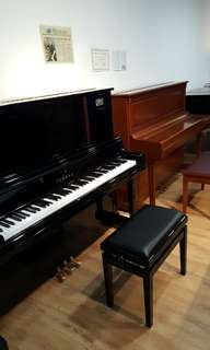 essex upright *by steinway .     and yamaha yu5sgx disclavier auto player