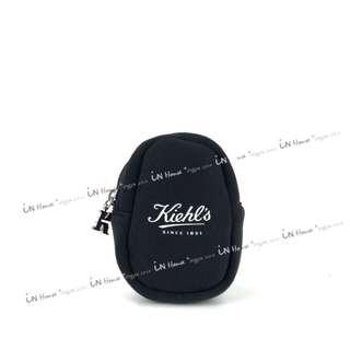 美國 Kiehes 契爾氏 耳機充電線 多功能 防震包 收納袋 飾品袋 男女 零錢包 化妝包 (特)