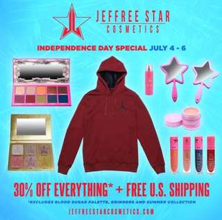 Jeffree Star Cosmetics Independence Day Special