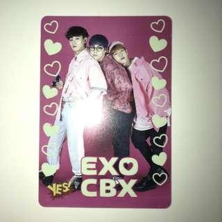 Exo Yes!Card 夜光卡 第18期