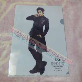 [CRAZY DEAL 90% OFF FROM ORIGINAL PRICE][READY STOCK]INFINITE HOYA KOREA CONCERT OFFICIAL A4 SIZE FILE 1PC!ORIGINAL FR KOREA (PRICE NOT INCLUDE POSTAGE)PLEASE READ DETAILS FOR MORE INFO; POSLAJU:PENINSULAR AREA :RM10/SABAH SARAWAK AREA: RM15