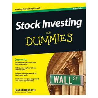 Stock Investing for Dummies, 4th Edition by Paul Mladjenovic [eBook]