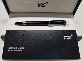 Original Mont blanc starwalker midnight black fineliner