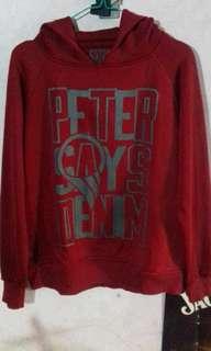 Hoodie Peter says denim
