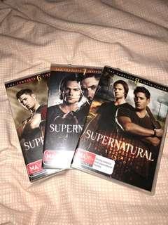 Supernatural Seasons 6-8 DVD
