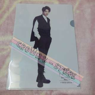 [LAST 1][CRAZY DEAL 90% OFF FROM ORIGINAL PRICE][READY STOCK]INFINITE WOOHYUN KOREA CONCERT OFFICIAL A4 SIZE FILE 1PC!ORIGINAL FR KOREA (PRICE NOT INCLUDE POSTAGE)PLEASE READ DETAILS FOR MORE INFO; POSLAJU:PENINSULAR AREA :RM10/SABAH SARAWAK AREA: RM15