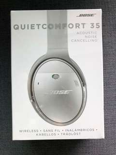 Unopened box new bose Noise cancelling headphones qc34