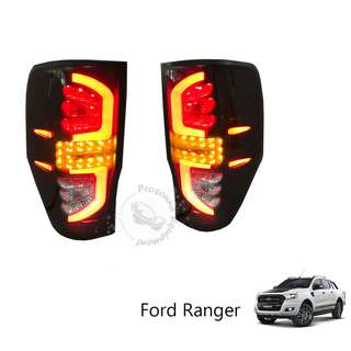 FORD RANGER TAIL LAMP LED SMOKE