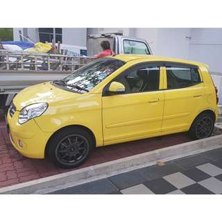KIA PICANTO 1.1Auto for DAILY/WEEKLY/MONTHLY rent/ PEUGEOT 207CC 1.6A SPORTS FOR MONTHLY ONLY/ SAAB 9-3 2.0A TURBO FOR DAILY/WEEKLY/MONTHLY / Van for  Hourly/ Per TRIP Rental - Toyota Hiace with Free DRIVER
