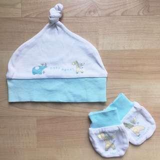 Poney Baby Hat & Mittens