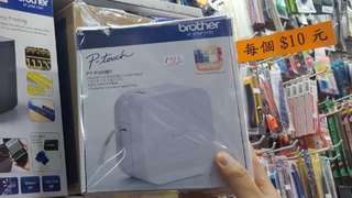 太子店 電話控制標籤機 Brother PTP300BT 12mm 暢銷 label printer