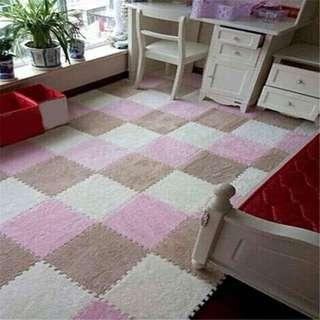 Floor puzzle mat