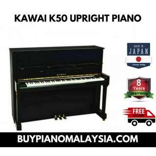 KAWAI K50 UPRIGHT PIANO