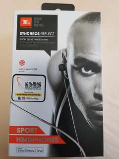 BNIB JBL in ear sports headphones